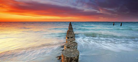 romantischer Meeresblick