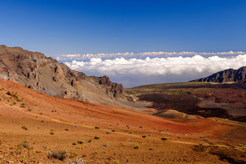 Colorful Haleakala Crater