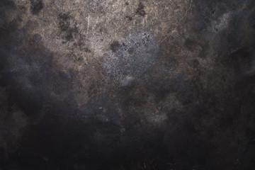 In de dag Metal dark metal backdrop or background texture, banner size