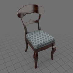 Traditional dining chair 1