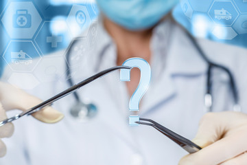 Concept questions and answers in surgery.