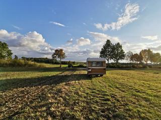 Urlaub nur mit dem Wohnmobil in freier Natur