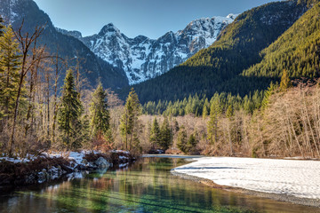 Day hike from Vancouver to Golden Ears Provincial Park in Winter
