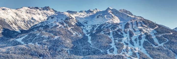 Blackcomb Mountain Ski Resort in Winter