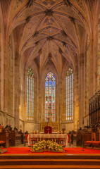 Fotomurales - BRATISLAVA, SLOVAKIA - FEBRUARY 11, 2014: The Presbytery of st. Martin cathedral from 15. cent.