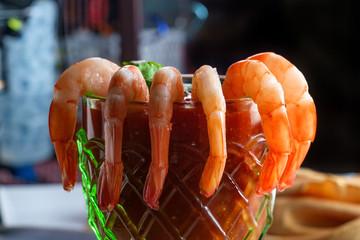 Shrimp Cocktail Glass Cup