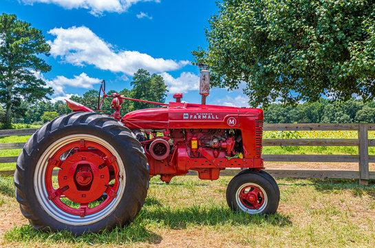 McCormick Farmall on Farm