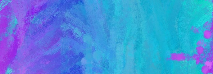 endless pattern. grunge abstract background with dodger blue, medium turquoise and medium orchid color. can be used as wallpaper, texture or fabric fashion printing