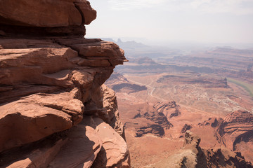 Foto op Plexiglas Zalm landscape in canyonlands National park in the united states of america