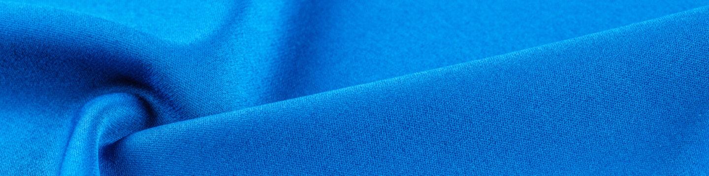 High resolution background texture, silk blue fabric