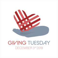 Special day. Giving Tuesday banner design.