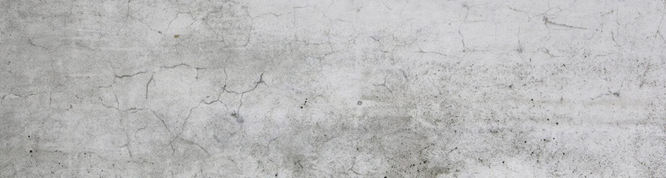 concrete white wall