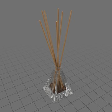 Aromatic reed sticks in glass bottle 6