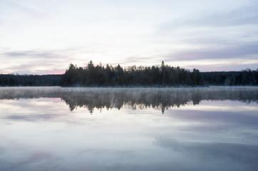 Foto reportaje: Una tarde de invierno, Wolf creek lake, Ontario, Canada.