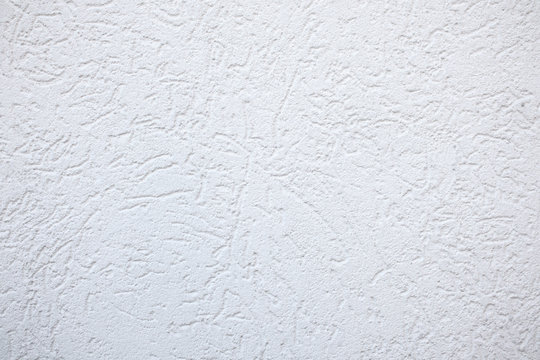 White fine plaster Texture Background - rough grooves