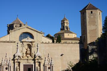 Cistercian Monastery of Santa Maria de Poblet (Monestir de Poblet), Catalonia region, Spain