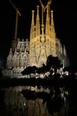 La Sagrada Familia - the impressive cathedral designed by Antonio Gaudi, which is being build since 19 March 1882, Barcelona, Spain