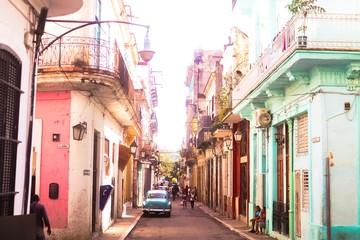 Foto op Textielframe Havana Streets of Havana