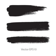 black brush stroke stripes