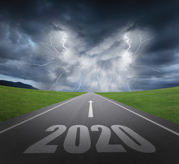 2020 new year concept