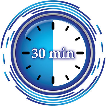 30 minutes icon