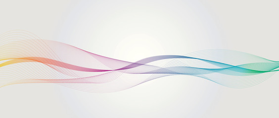 Abstract Line Banner