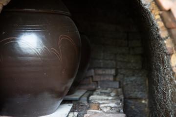 Bugeo-ri Pottery Kiln in Gimje-si, South Korea.