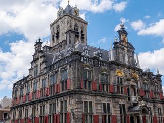 Rathaus in Delft, Niederland