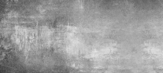 Foto auf Leinwand Steine grey stone concrete texture background banner