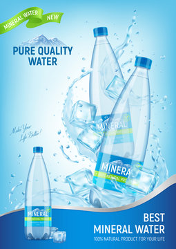 Mineral Water Advert Poster
