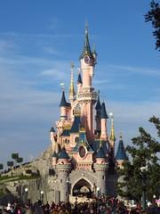 Disneyland Paris, château de la belle au bois dormant - 09 décembre 2016 (France)