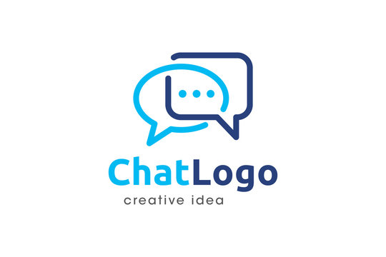 Creative Chat Logo and Icon Template