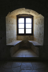 Wall Mural - window of old castle