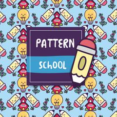 pattern_school_happy