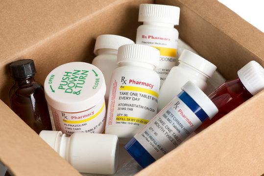 Prescription Mailing Box