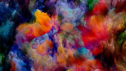 Fototapeta Conceptual Virtual Color obraz