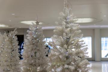 写真素材:クリスマス、ツリー、ホワイト、綺麗、飾り