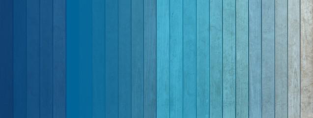 revêtement mural bois , lambris bleu