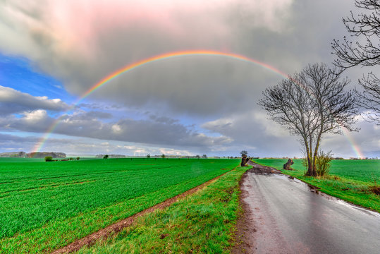 Aprilwetter in der Uckermark