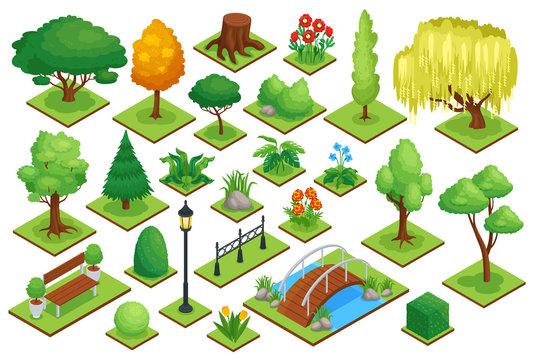 City Park Element Set