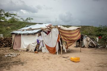 A refugees home