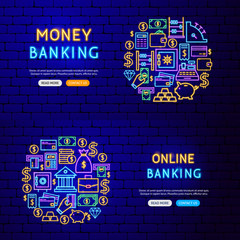 Banking Finance Banners