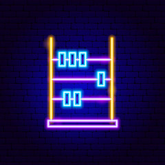 Abacus Neon Sign