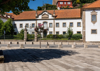 Messe dos Oficiais is a luxury hotel in the center of Lamego in Portugal