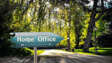 Street Sign Home Office