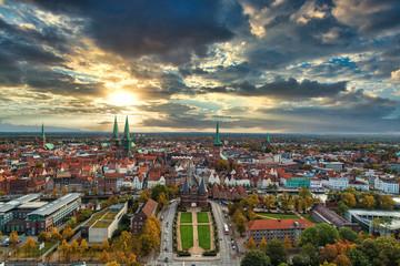 Morgengruß aus Lübeck