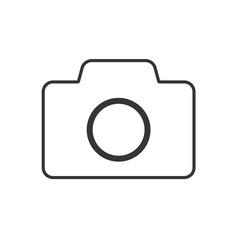 Photo camera icon - vector.