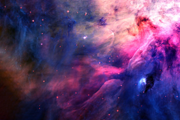 Beautiful, bright, distant galaxy. Background texture. Elements of this image furnished by NASA