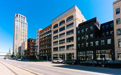 Detroit Downtown, Woodward Street