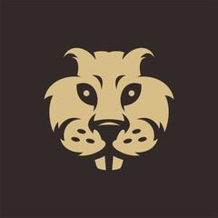 gopher head logo